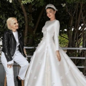 Miranda Kerr Finally Revealed Her Dior Wedding Dress And It's Sizzling HOT