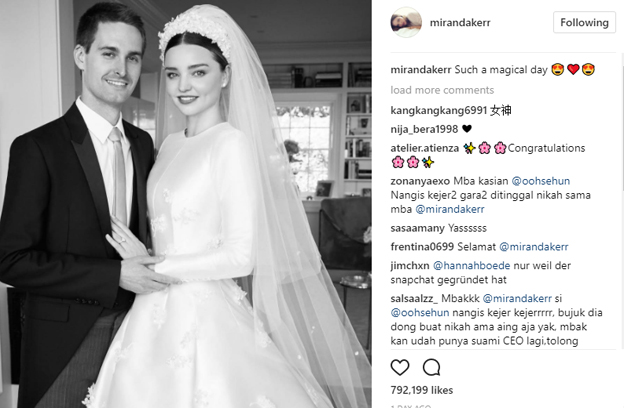 Miranda Kerr Wedding Dress.Miranda Kerr Finally Revealed Her Dior Wedding Dress And It S
