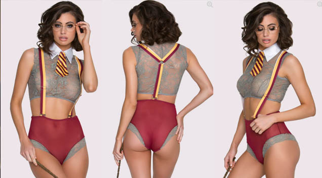 OMG! A Harry Potter Lingerie Actually Exists And It's