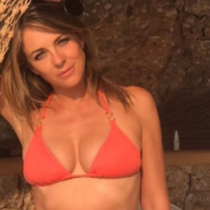 Liz Hurley Just Posted A Bikini Pic On Instagram And She Looks Absolutely Amazing