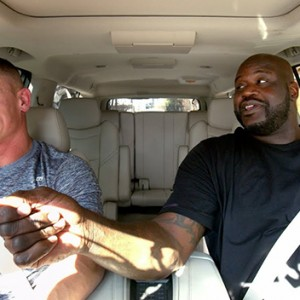Watch Shaq And John Cena Hilariously Pick On Each Other During Carpool Karaoke