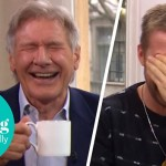 Watch Ryan Gosling & Harrison Ford Completely Lose It In This Gut-Busting Boozy 'Blade Runner 2049′ Interview