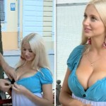 This Woman Installed A Candid Camera On Her Cleavage. Seconds Later… OMG