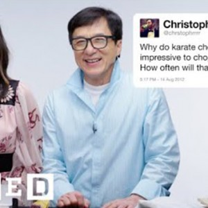 Watch Jackie Chan & Olivia Munn Answer Fascinating Martial Arts Questions From Twitter