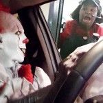 Watch This Killer Clown's Drive Thru Prank Scare The Hell Out Of These Employees