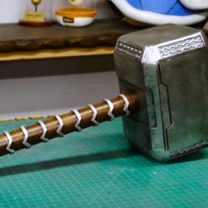 This Man Will Show You How To Make A Cheap But Seriously Awesome Thor Hammer