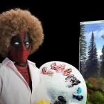 Deadpool Just Spoofed Painter Bob Ross In His Latest Sequel Teaser