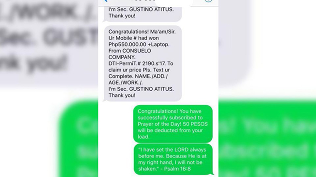 This Student Received A Text Message From A Scammer    Her