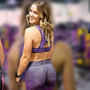 "These 2 Girls Worked Out At A Fitness Studio ""Wearing"" Just Body Paint… People's Reactions Were Priceless"