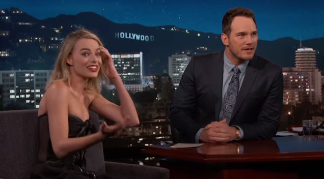 Guest Host Chris Pratt Just Interviewed Margot Robbie And ...
