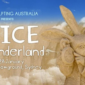 Featured Event Of The Day: Sand Sculpting Australia presents 'Alice in Wonderland'