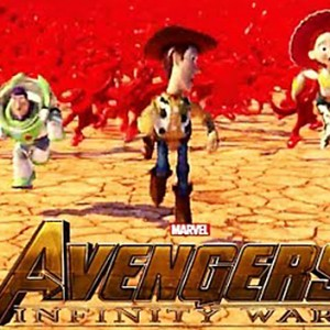 """""""Avengers: Infinity War"""" Trailer Just Got Redone With Disney And Pixar Characters"""
