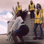 Serena Williams Tearing Up An Airport Runway Is The BEST Thing You'll See All Day