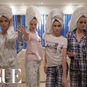Here's What A Victoria's Secret Supermodels Sleepover Looks Like