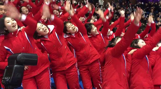 northkoreancheerleaders