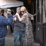 Paris Hilton Made This Homeless Man's Day With A Wad Of Cash And A Hug