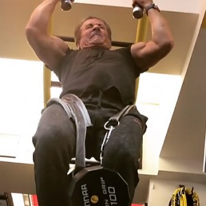 Sylvester Stallone Just Did 100lb Pull Ups At Age 71 To Prove He's Still A Badass
