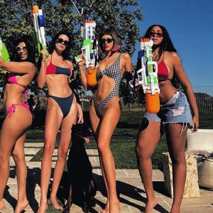 Kendall Jenner And Kourtney Kardashian Just Spent Their Memorial Day Weekend In Sexy Swimwear