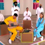 """Ariana Grande & Jimmy Fallon Just Sang """"No Tears Left to Cry"""" With Nintendo Labo Instruments"""