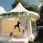These Fancy Bouncy Castles Will Make Everyone At Your Wedding Jump Like A Boss