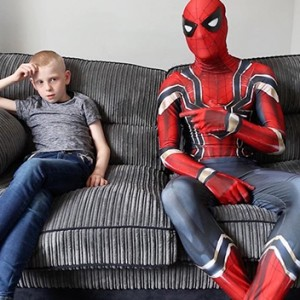 This Single Father Dresses Up As Spider-Man To Help Calm His Autistic Son