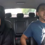 This Female Uber Driver Pretended To Race Some Gangsters… The Passenger's Reaction Was Priceless