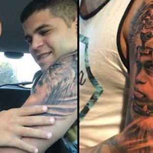 This Brother Got A Tattoo Of His Brother With Down's Syndrome. His Reaction Was Priceless!