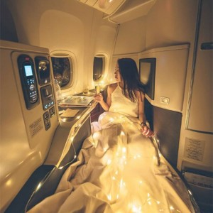 This Instagram Star Just Pissed Off A Lot Of Passengers After She Used Fairy Lights During A Flight