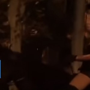 Mysterious Woman Wearing A Sexy Costume & Riding A Black Horse On The Streets Of Shanghai Goes Viral