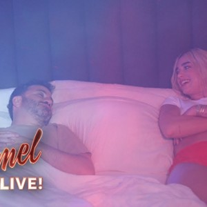 Watch Dua Lipa Hilariously Prank Jimmy Kimmel With In-Bed 'Electricity'