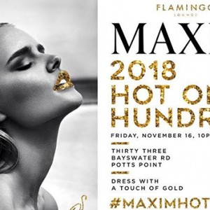 Featured Event Of The Week: Maxim HOT 100 Party