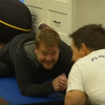 James Corden Decided To Join Mark Wahlberg's 4 am Workout Club. Seconds Later… LOL