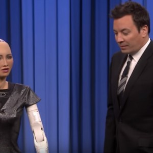 Sophia the Robot And Jimmy Fallon Just Sang A Duet (Yes, You Read Right)