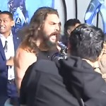 Jason Momoa Just Led A Haka At the 'Aquaman' Premiere In LA