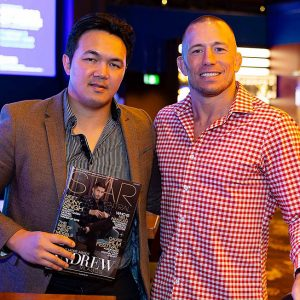 StarCentral Magazine's One On One Interview With The Legendary George St. Pierre