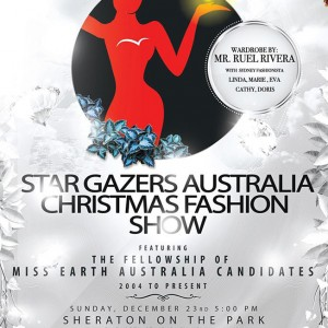 Featured Event Of The Week: Star Gazers Australia Christmas Fashion Show