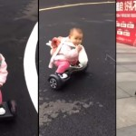 This Toddler Who Can Ride A Hoverboard Like A Boss Just Went Viral Online
