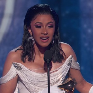 It's Official: Cardi B Is The First EVER Woman Solo Artist To Win Best Rap Album At The Grammys