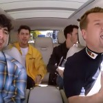 James Corden Grills The Jonas Brothers By Making Them Take  A Lie Detector Test On 'Carpool Karaoke'