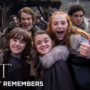 Watch The Cast Look Back On Filming The Eight Seasons of Game of Thrones.