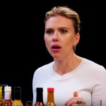 Watch Scarlett Johansson Try To Not Spoil Avengers While Eating Spicy Wings