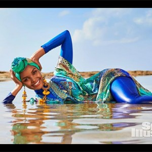 This Woman Just Became The First Ever Model To Wear A Burkini In An Issue Of Sports Illustrated