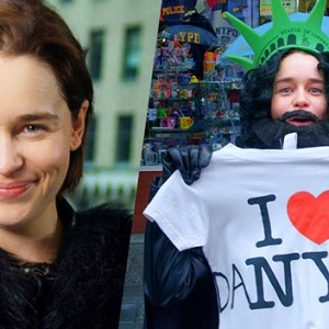 Watch Emilia Clarke Hilariously Prank Times Square As Undercover Jon Snow