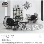 'Star Wars Disney' Just Released A Luxury Furniture Collection For The Die Hard Star Wars Fashionistas