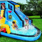 Amazon Is Selling A Giant Inflatable Water That Comes With Built-In Cannons
