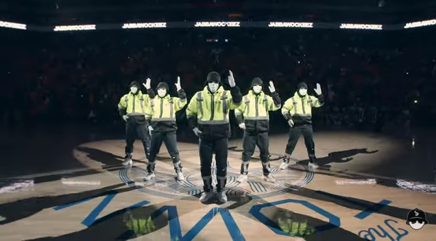 Jabbawockeez Just Performed At The NBA Finals 2019 And They