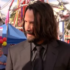 Keanu Reeves Just Found Out He's The Internet's Boyfriend. His Reaction Was Adorable!