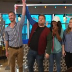 Watch James Corden Hilariously Turn A Starbucks Cafe Into A Movie