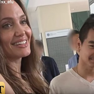 Angelina Jolie Was Spotted Fighting Tears While Dropping Her Son Off To College
