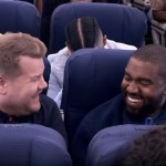 Watch Kanye West and James Corden In The First EVER Airpool Karaoke